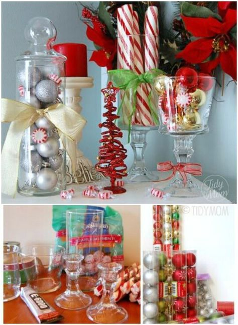 40 Festive Dollar Store Christmas Decorations You Can Easily DIY - 40 Festive Dollar Store Christmas Decorations You Can Easily DIY