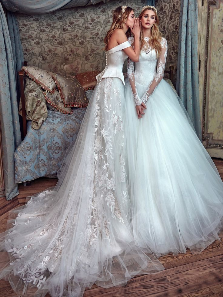 606 best Wedding Gowns images on Pinterest | Wedding frocks ...