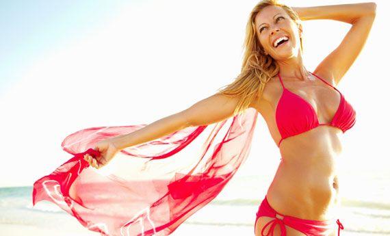 Allenamento last minute per superare la prova bikini!   I combatticiccia