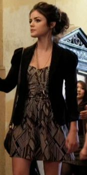 click through to buy Aria's dress from most recent Pretty Little Liars episode - thanks @Curvio