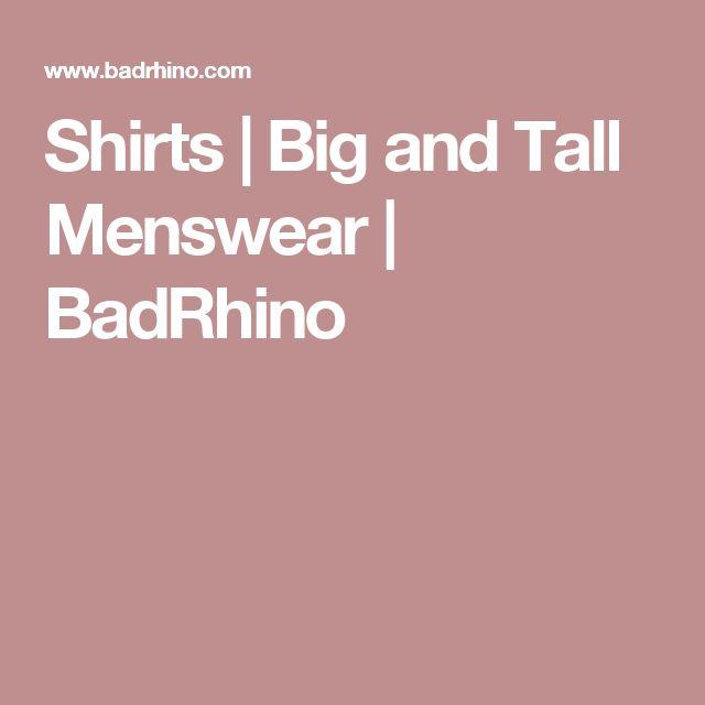 Shirts | Big and Tall Menswear | BadRhino
