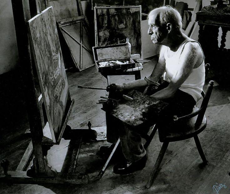 100 Famous Artists And Their Studios - Béla Czóbel