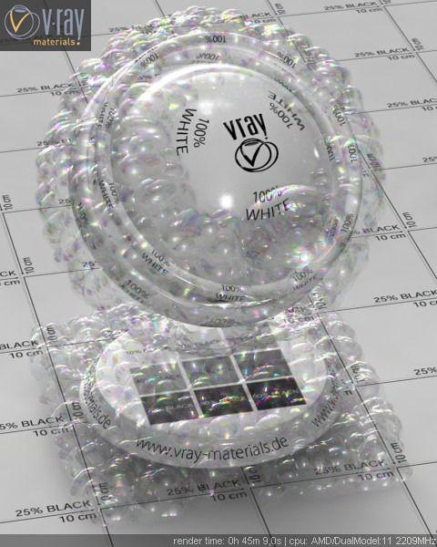 V-Ray Soap Bubbles