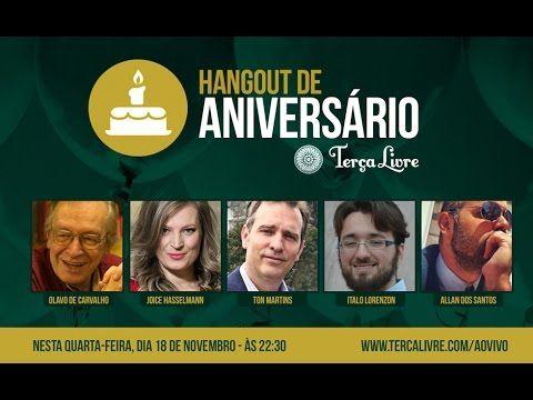 Com Olavo de Carvalho, Joice Hasselmann, Ton Martins e Italo Lorenzon. Contribua conosco: http://tercalivre.com/colabore/