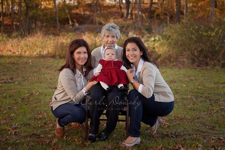 Four Generations of Ladies
