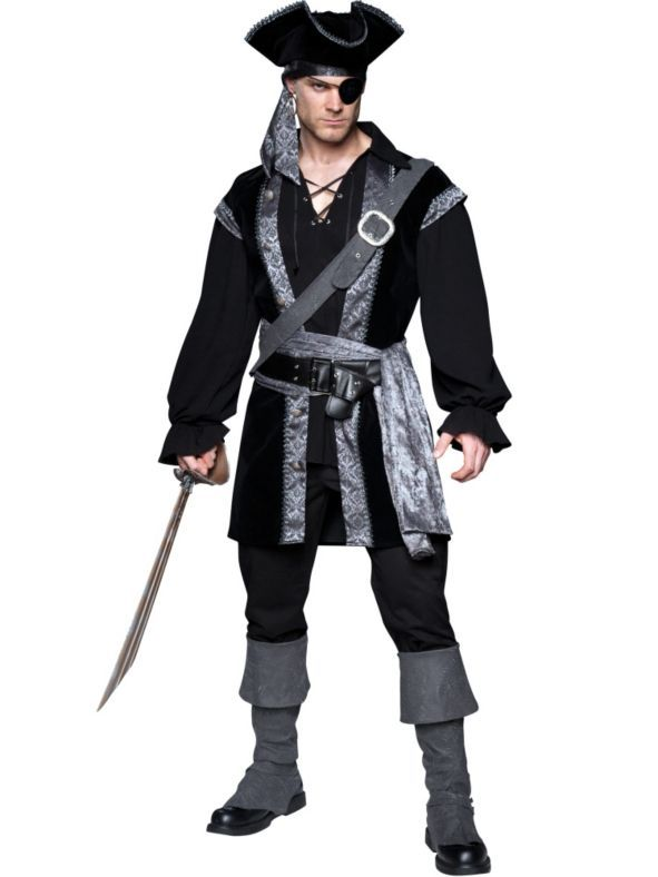 High Seas Rogue Pirate Costume   Wholesale Pirate Costumes for Men
