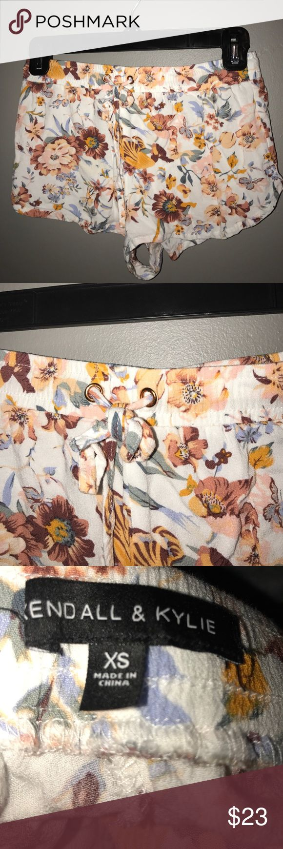 Kendall & Kylie Shorts i actually love these. but they are too small for me now & i've worn these quite a bit but they are in very good shape & there are not any stains, rips, or fuzz. Kendall & Kylie Shorts