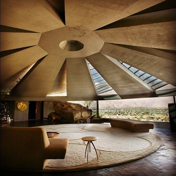 mid-century modern perfection: john lautner's elrod house in palm springs