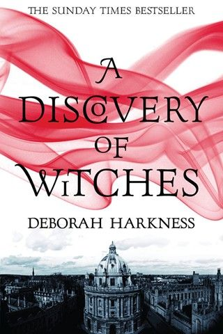 "Fantastic first book in the ""All Souls"" trilogy by Deborah Harkness...this series is amazing! Definitely one of my all time favorites!!"