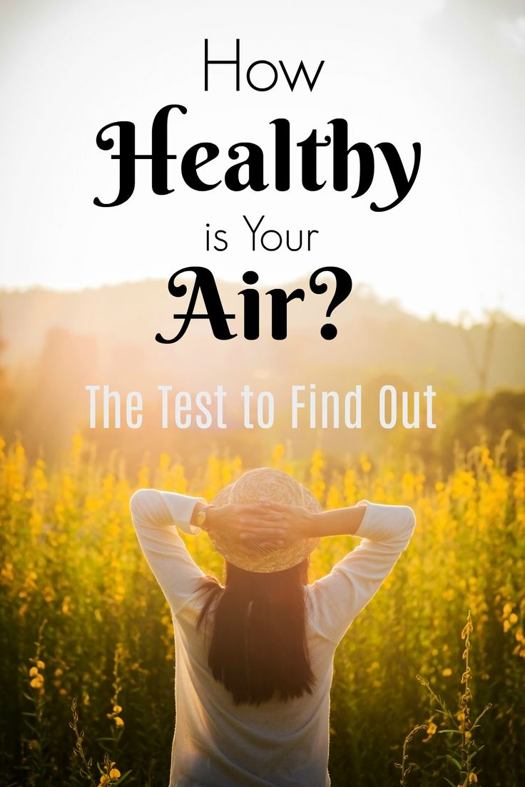 How healthy is your indoor air? Check for toxic VOCs and formaldehyde in the air you breathe inside your home with this one easy test. Create a healthy home by cleaning your air.