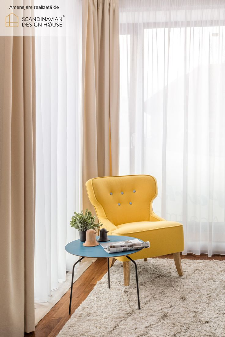 Play with colours the Scandinavian way | Details from a Scandinavian Design House project, in a cheerful bedroom