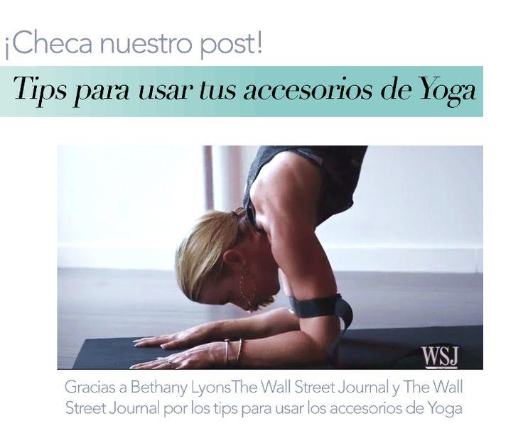 ¡Sabes cómo usar tu Yoga Block y Strap??