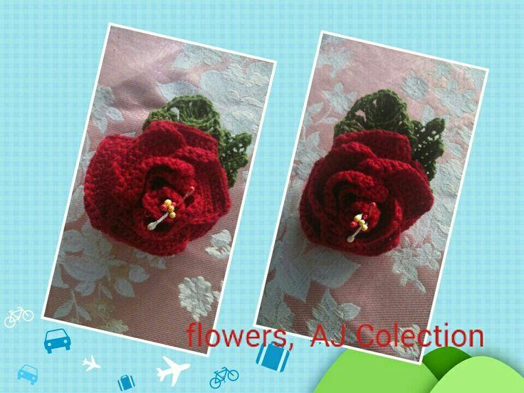 My flower my hand made