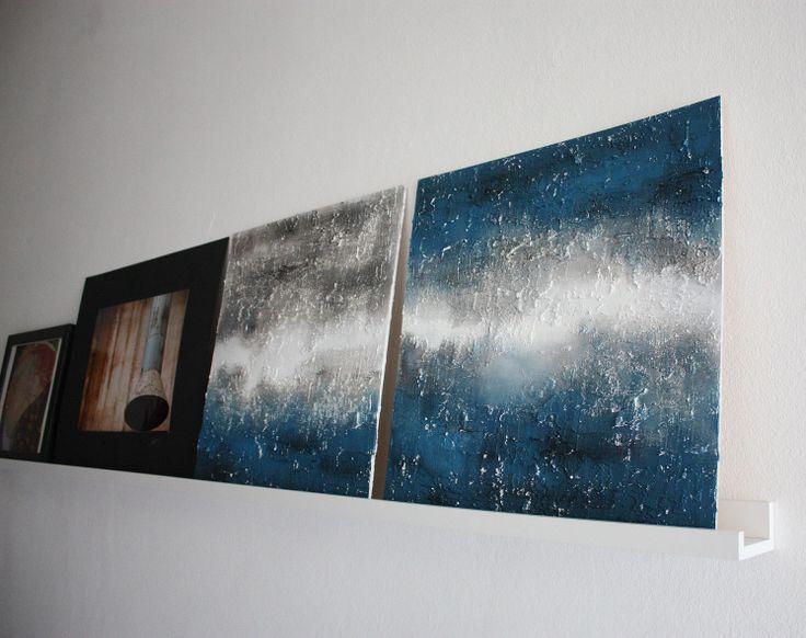 9 best materic painting - blu color tone images on Pinterest - plexiglas als küchenrückwand
