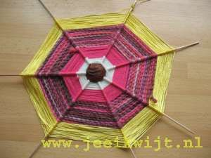 herfstknutsel spinneweb
