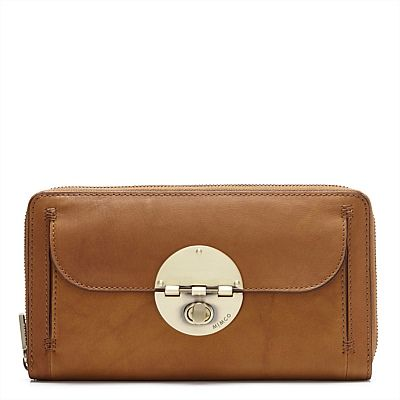 TURNLOCK TRAVEL WALLET -  love this honey colour. think i want to get it