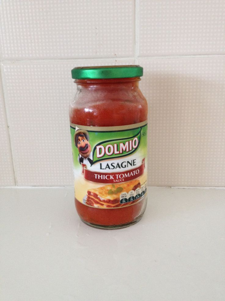 Use Dolmio Pasta Sauce Jars for your Mason jar project - enjoy the sauce and recycle the jar.