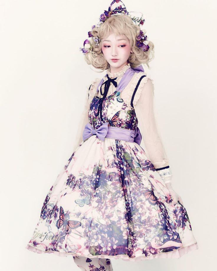 Lolita Fashion / Cute Dress / Headband / Kawaii Japanese Fashion Photography / Harajuku / Kiyohari / Cosplay  // ♥ More @lDarkWonderland