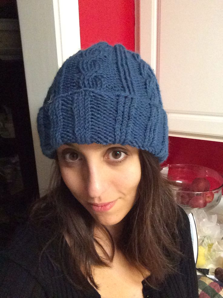 Cabled hat!