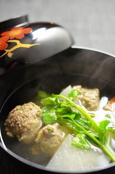 アサムラサキ「白だしかき醤油で簡単美味しい、いわし団子汁」 by 槙 ...