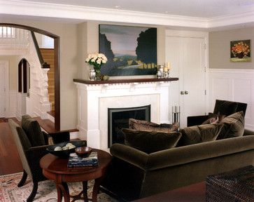 Exceptional Traditional Living Photos Brown Sofa Design Ideas, Pictures, Remodel, And  Decor   Page