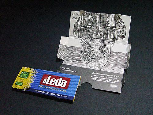 Art inside - aLeda Packaging   https://www.etsy.com/shop/BromArt