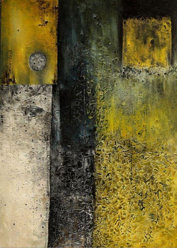 Josef Istler - Picture (1966) #art #painting #Czechia