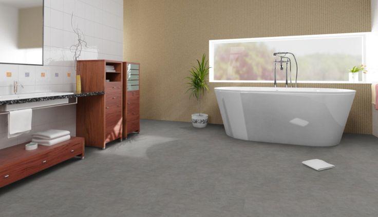h ssliche fliesen im bad einfach und schnell mit klick vinyl berdecken beton pur und sch n. Black Bedroom Furniture Sets. Home Design Ideas