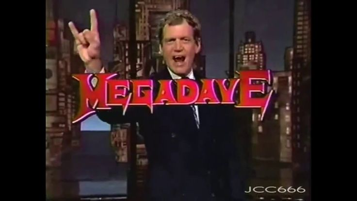 Megadeth - Train of Consequences Live in David Letterman Show 1994 (HD)