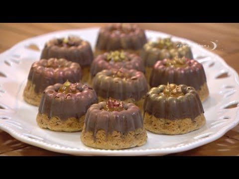 خبايا بن بريم: تاج الشكولاطة,حلوى بجوزالهندوالشوكولا البيضاء,قلوب مزينة بالشوكولا قناة سميرةSamiraTV - YouTube