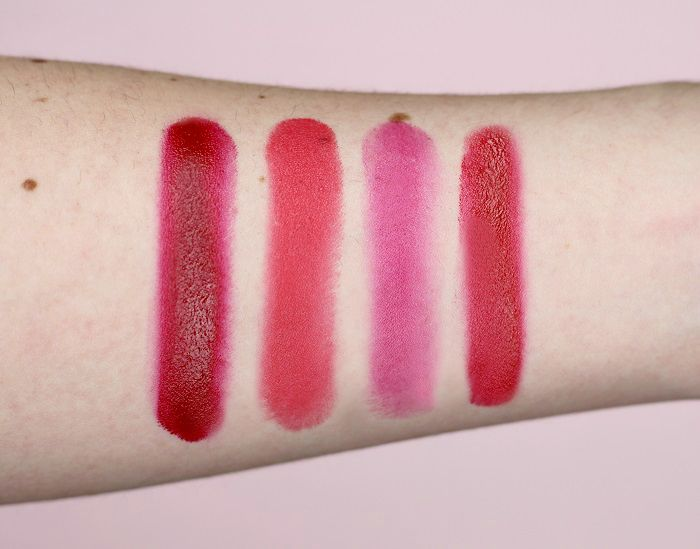 Sleek lip4 tease swatches