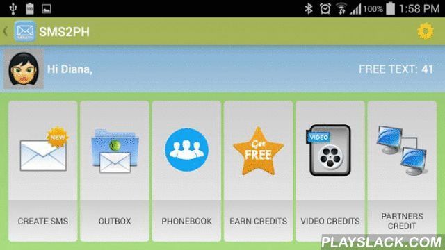 SMS2PH Free  Android App - playslack.com , Please rate us 5 star if you like this application.SMS2PH is a free android application and our goal is to send a free text messages to your family and love ones in the Philippines without wasting your money. All you need is internet access to visit our website and send a message. If you're in the Philippines and if you're out of load, all you have to do is find any free wifi hot spots (if you have a mobile phones capable) and you're good to go.How…