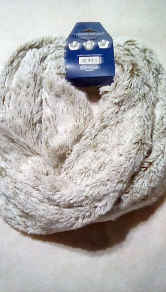 Luxury 100/% Silk Abstract Designer Print Circle Loop Infinity Scarf Snood