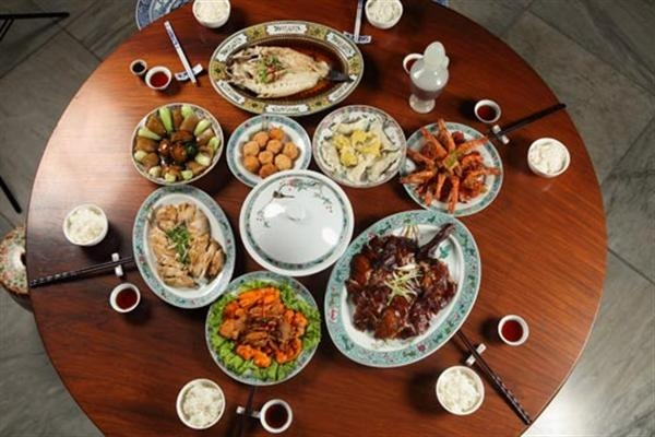Chinese Food New Year