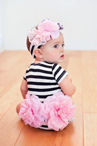Infant Blooming Baby Onesie. Adorable!