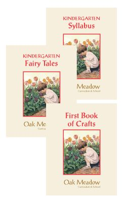 Oak Meadow Kindergarten Homeschool Curriculum.  Can't wait to start this with my younger daughter!