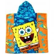 Πόντσο Μπουρνούζι Bebe Sponge Bob @Pennieshops