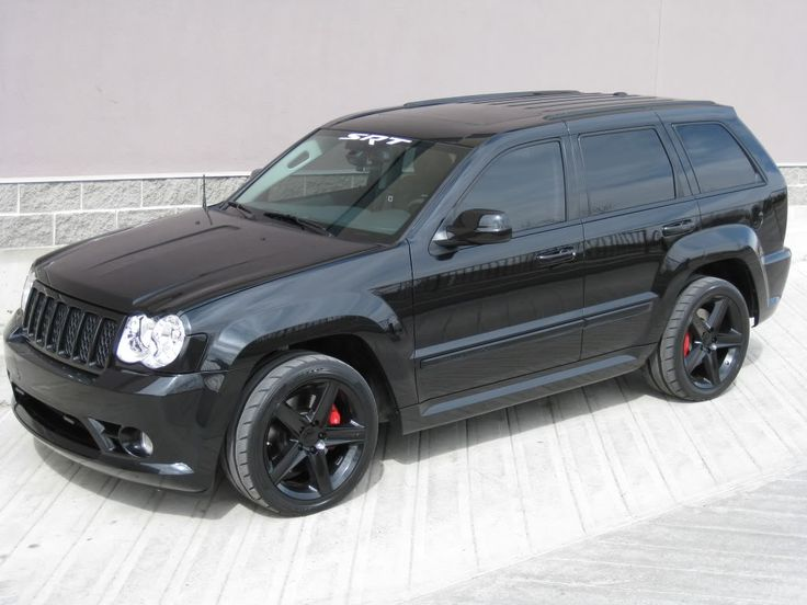 jeep grand cherokee srt8 blacked out jeep pinterest. Black Bedroom Furniture Sets. Home Design Ideas