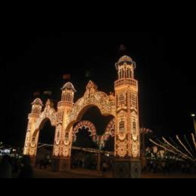 Rota, Spain Feria  There's no place better than Spain!