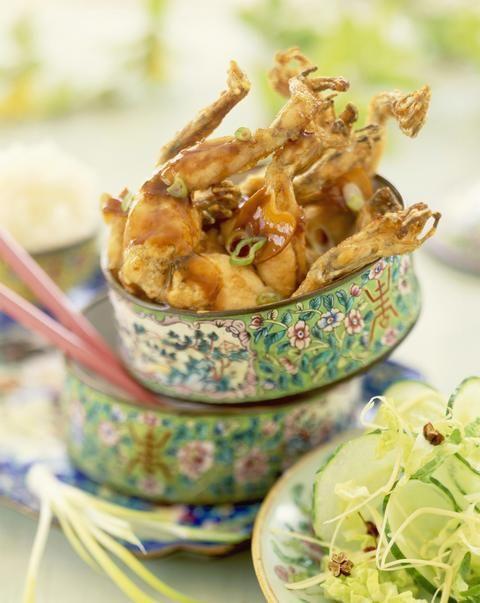 Cuisses de grenouilles caramélisées à la chinoise - Cuisine - Plurielles.fr