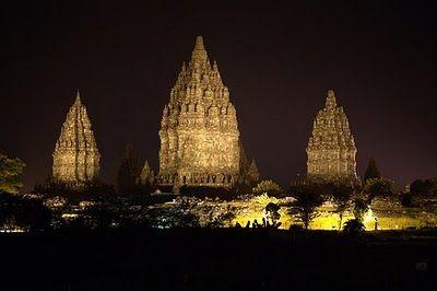 Prambanan Temples, near Yogyakarta, Indonesia