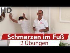 Fersensporn Übungen zum Mitmachen // Schmerzen in der Ferse - YouTube