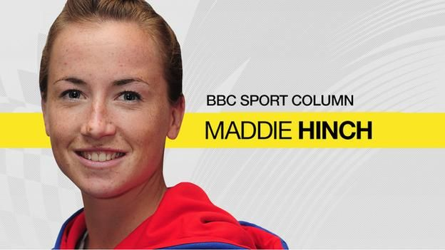 Maddie Linch: GB hockey gold medallist on fame, freebies & future dreams - BBC Sport