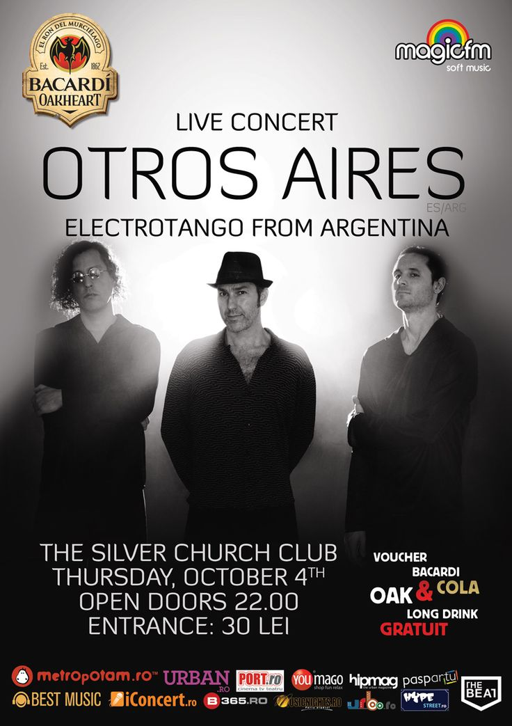 Concert OTROS AIRES - Electrotango from Argentina | tscarena.ro