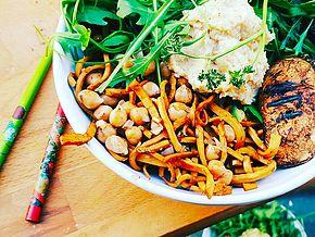 Fitmiam - recettes gourmandes, légères et végétales | Poêle & Wok