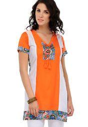 Yepme Orange Printed Kurti Online Shopping Store 499