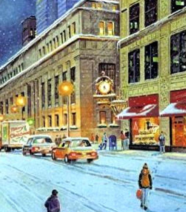 Vintage Photo Of Pittsburgh At Christmas Pittsburgh Yinz