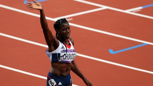 BBC Sport - Christine Ohuruogu wins Olympic 400m silver for Great Britain
