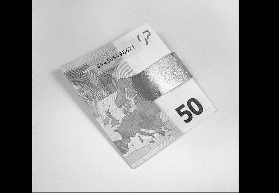 Silver Money Clip in 925 Silver Handmade di GioielleriaBrunelli, $90.00