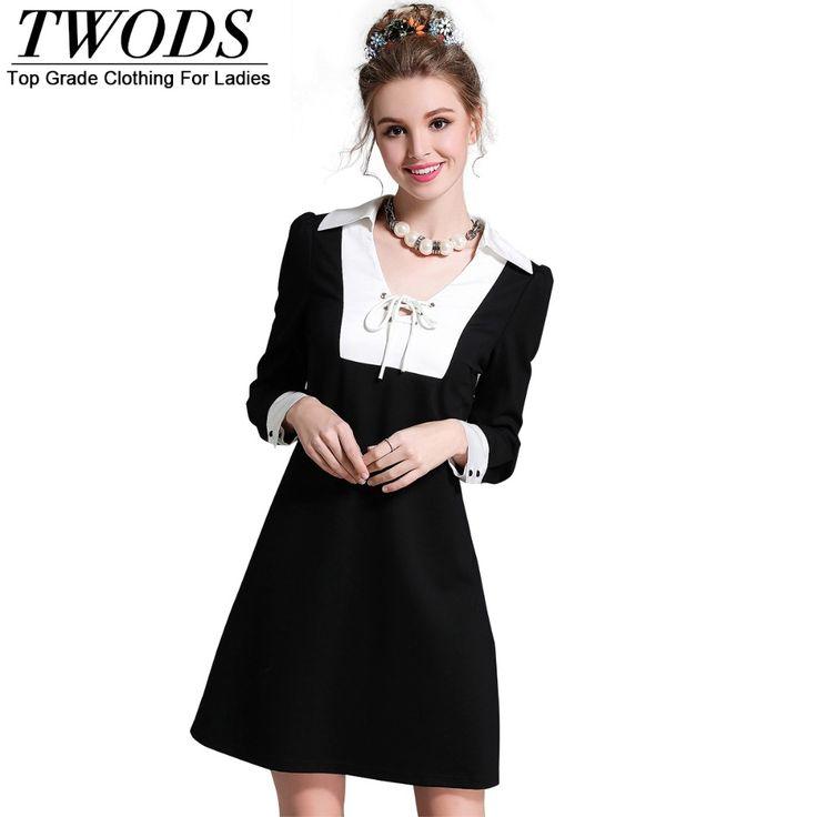 L- 5XL Cross Strap Min Dress Autumn Slim Cut Long Sleeve Short Black And White Who like it ? http://www.artifashion.net/product/l-5xl-cross-strap-min-dress-autumn-slim-cut-long-sleeve-short-black-and-white/ #shop #beauty #Woman's fashion #Products